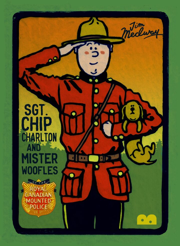 Sgt Chop Charlton and Mister Woofles cover