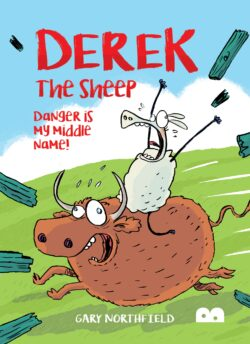 Derek the sheep - danger is my middle name front cover