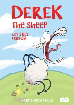 Derek the sheep let's bee friends front cover