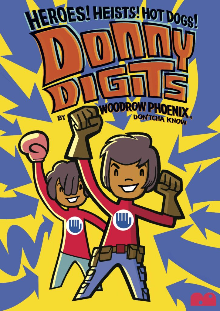 Donny Digits front cover