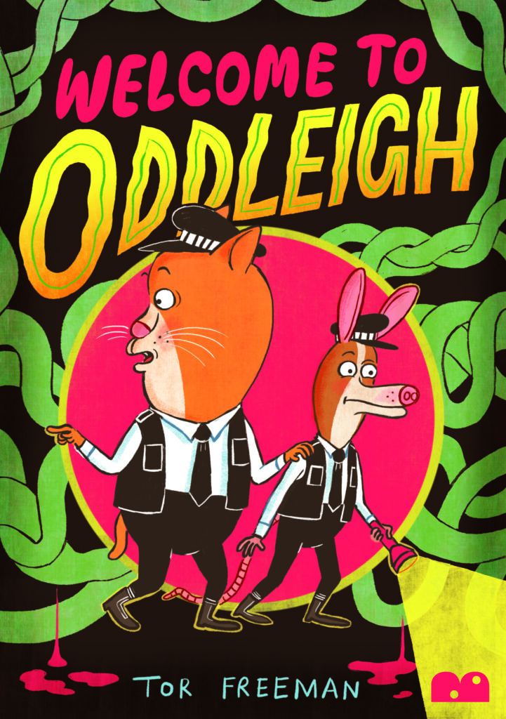 Welcome to Oddleigh book cover