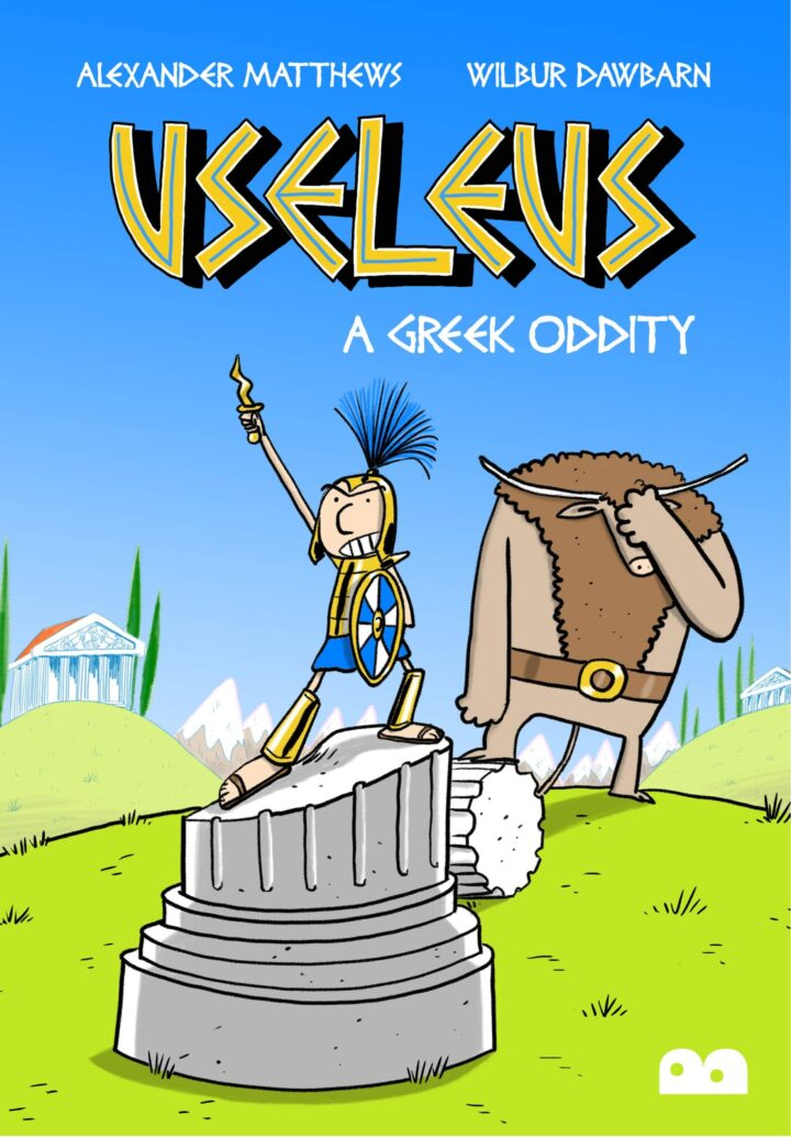 Useleus a greek oddity front cover